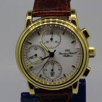 IWC Amalfi Chronograph 18k Gold 3703