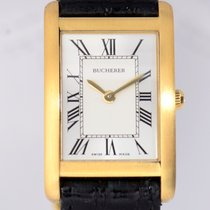 Carl F. Bucherer Dresswatch 18K Yellow Gold Flat roman...