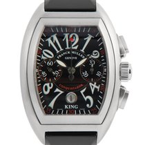 Franck Muller Conquistador King Chronograph in Stainless Steel