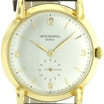 Patek Philippe Calatrava Herrenuhr um 1939-40 in 750/18k Gold ...