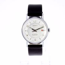 Zeno-Watch Basel Vintage Silver Dial New Old Stock