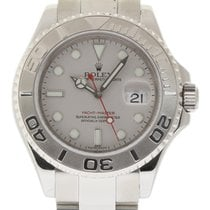 Rolex Yacht-Master 16622 40mm Steel Platinum 2008 Box/Paper #16-3