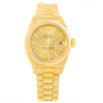 Rolex President Datejust Ladies 18k Yellow Gold Automatic...