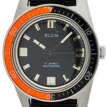 Elgin Diver's Automatic Bakelite Bezel circa 1960's MINT