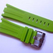 Compatible Green Rubber strap for AP - 28mm Audemars Piguet...