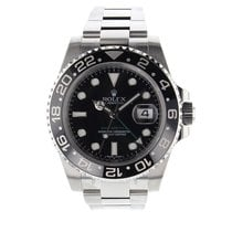 Rolex GMT MASTER 40mm Stainless Steel 116710 Mens Watch