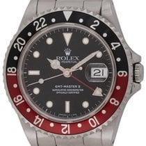 Rolex : GMT-Master II :  16710 :  Stainless Steel : black...