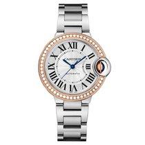 Cartier Ballon Bleu 33mm Stainless Steel & Rose Gold Watch