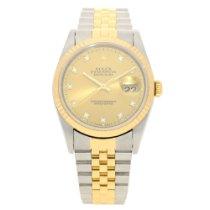 Rolex Datejust 16233 - Gents Watch - Diamond Dial - 1995
