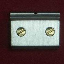 Cartier Santos Glied Link Verlängerungsglied 10mm Stahl mit 2...