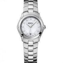 Ebel Sport Steel Case, Mother of Pearl Dial, Diamond Index