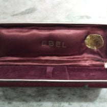 Ebel vintage watch box leather brown rare rare rare