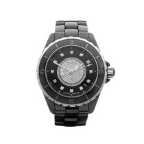 Chanel J12 Diamond Dial Ceramic Unisex H1757