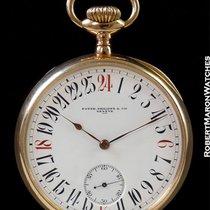 Patek Phillipe Chronometro Gondolo 18k Rose Keyless 24 Hour...