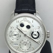 IWC Portoghese Calendario Perpetuo Platino Double Moon