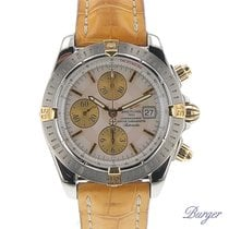 Breitling Chronomat Evolution Gold/Steel MOP Dial