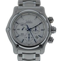 Ebel 1911 Btr Chronograph Stainless Steel With Silver Dial On...