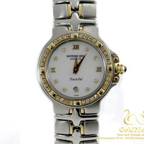 Raymond Weil Parsifal 18K Yellow Gold Stainless Steel Diamonds