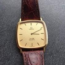 Omega De Ville quartz 1365 men's watch - 750 / 18 kt -...