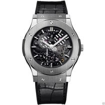 Hublot Classic Fusion Ultra Thin Skeleton 45mm 515.NX.0170.LR NEW