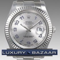 Rolex Oyster Perpetual Datejust II 41mm Fluted Bezel 116334 gao