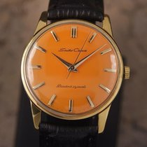 Seiko Crown Made in Japan 1960 Gold Plated Manual 35mm Men...