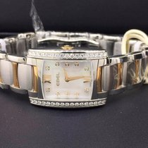 Ebel Brasilia Mini Two Tone Steel & 18k Yellow Gold MOP...