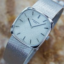 Patek Philippe 18k Solid Gold Luxury Dress Watch Ref 3666 For...