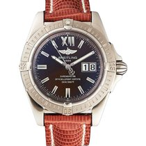 Breitling J4935011/Q532 Chronomat Evolution in White Gold - on...