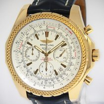 Breitling Bentley Motors 18k Yellow Gold 48mm Mens Watch...