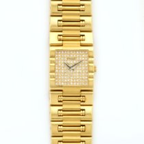 Piaget Yellow Gold Dancer Pave Diamond Watch
