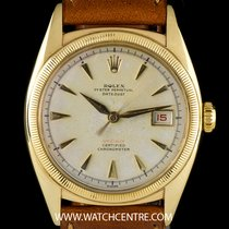 Rolex 10k Y/G Very Rare Official Red Semi BubbleBack Datejust...