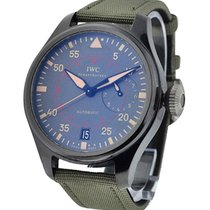 IWC IW501902 Big Pilot Top Gun Miramar in Black Ceramic - On...