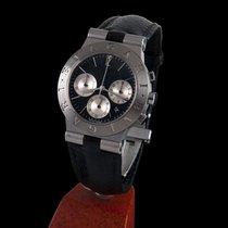 Bulgari sport chronograph steel men size