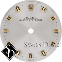 Rolex Oyster Perpetual Silver Stick Marker T Swiss T Dial...