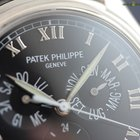 Patek Philippe Annual Calendar White Gold Black Dial Roman...