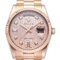 Rolex Day-Date 36 18 kt Everose-Gold 118235 Pink Jubile DIA