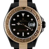 Rolex Used 16623_pvd Oyster Perpetual Yachtmaster Two-Tone -...