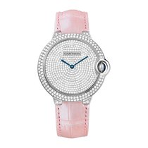 Cartier Ballon Bleu Automatic Ladies Watch Ref WE902042