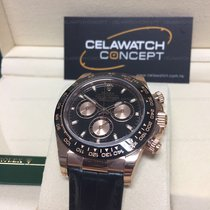 Rolex 116515LN Rose Gold Daytona Black Dial Ceramic Bezel
