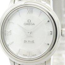 Omega Polished Omega De Ville Prestige Mop Quartz Watch...
