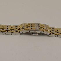 Oris Stahl Armband 18mm Breite Neuw Stahl/gold Top Zustand