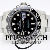 Rolex GMT MASTER II 116710 LN ACCIAIO 2009 Just Serviced 3394
