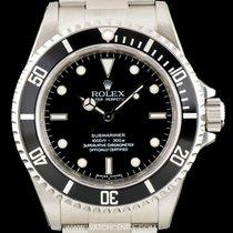 Rolex S/S  Unworn 4 Liner Black Dial Submariner NOS B&P...
