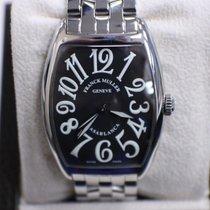 Franck Muller Curvex Casablanca Watch 2852 Black Dial Stainles...