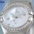 Omega Constellation Quartz 24mm Diamonds Mother-of-pearl Dial