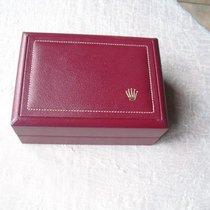 Rolex Große Rote Vintage Lederbox