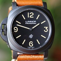 Panerai PAM 360 Luminor Base Model Logo Dial PVD Paneristi...