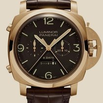 Panerai Luminor 1950 RATTRAPANTE 8 DAYS ORO ROSA - 47MM