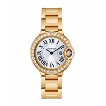 Cartier Ballon Bleu Quartz Ladies Watch Ref WE9001Z3